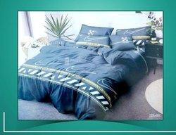 Drap de lit + 2 taies + couverture
