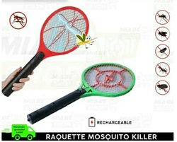 Raquette tueur de moustiques