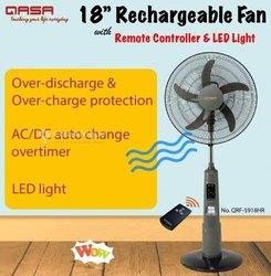 Ventilateur rechargeable avec commande