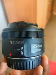 Objectif Canon ef - 50mm