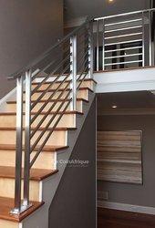 Bras escalier en inox