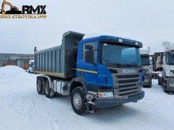 Camion à benne scania p380