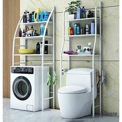 support de rangement de toilette et machine lavage