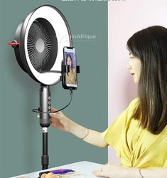 Ring light avec ventilateur