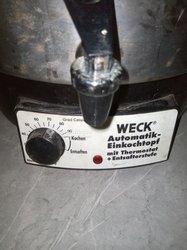 Stérilisateur Thermique Weck