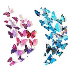 Papillon autocollant 3D