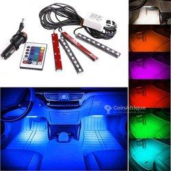 Lumière LED intérieur voiture