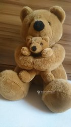 Peluches ours et ourson