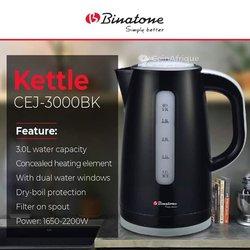 Chauffe eau Binatone