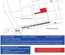 Vente Terrain 925 m² -  Rood Wooko