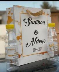 Sachet mariage personnalisé