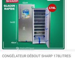Congélateur Sharp 178L