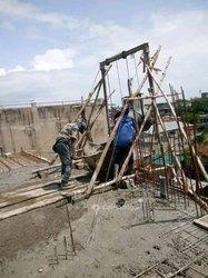 Travaux bâtiment en ferraillage