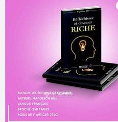 Livre - Réfléchir et devenir riche