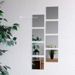 Ensemble miroirs décoratifs