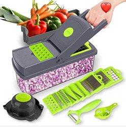 Découpe légumes 12 pièces multifonctionnel