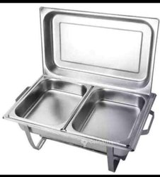 Chafing inox deux compartiments