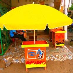 Table et parasol