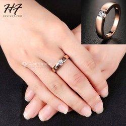 Bague X6 diamantin - plaqué or