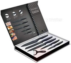 Set 5 couteaux de cuisine - éplucheur