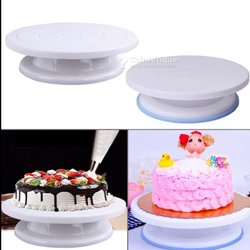 Présentoir de gâteau tournant