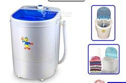 Mini machine à laver + essoreur  - 4,5kg
