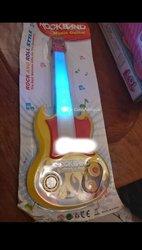 Guitare de musique rock enfant
