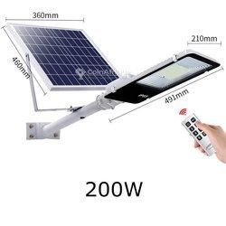 Lampadaire solaire 200w