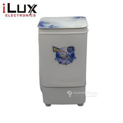 Ilux Machine à Laver Semi-Auto - 8Kg - LX-8010GS - Blanc