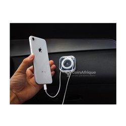 Mini support de téléphone de voiture en silicone lavable