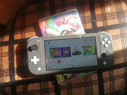 Nintendo switch - 2 disquettes - chargeur
