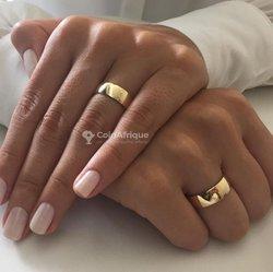 Bague en or plaqué