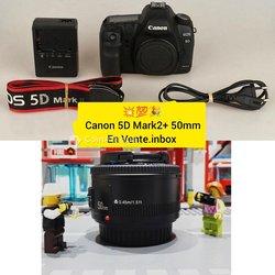 Canon 5d mark2+ 50mm