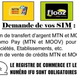 Carte sims commerciales