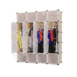 Armoire plastique 4 battants