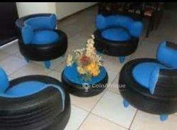 Sièges à pneus