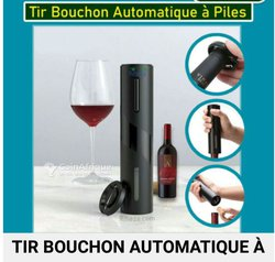 Ouvre vin à pile