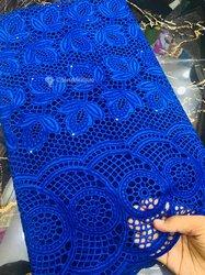 Tissu lace autruche
