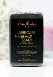 Savon anti acné African Black Soap