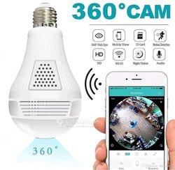 Caméra ampoule 360°