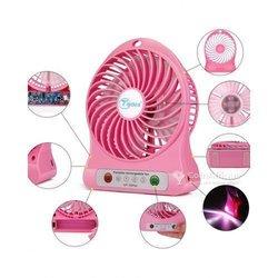 Ventilateur électrique rechargeable