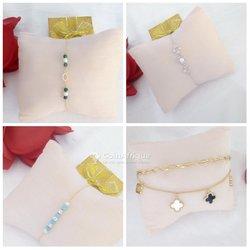 Bracelet tendance en or plaqué