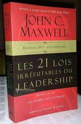 Livres - Les 21 lois irréfutables du leadership