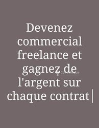 Recrutement - Commerciaux Freelance