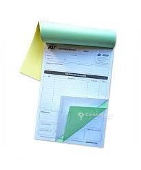 Carnet de facture personnalisé