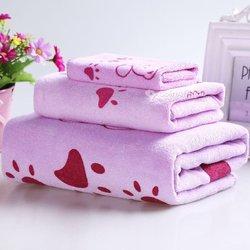 Ensemble de serviettes coton