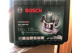 Défonceuse Bosch 1400 watt