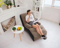 Canapé-lit avec accoudoirs