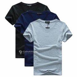 T-shirts 3 pièces