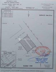 Vente Terrain 457 m² - Ste Rita